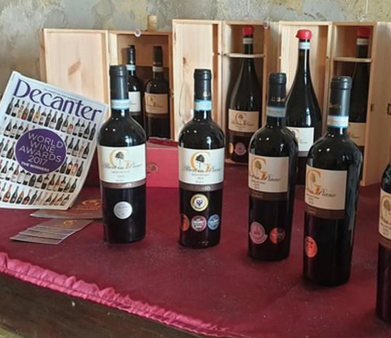 """L'Aglianico """"Alberi in Piano"""" medaglia d'oro al Decanter World Wine Awards 2020"""